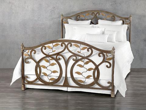 Wesley Allen - Laurel Iron Bed - 1364-CB