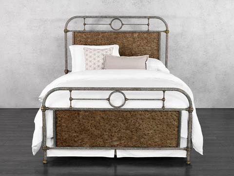 Wesley Allen - Danville Iron Bed - 1369-CB