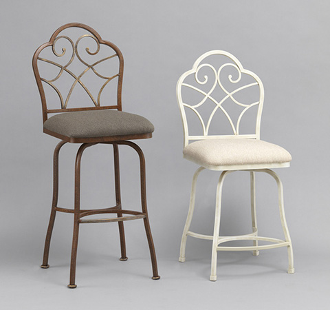 Wesley Allen - Anderson Iron Barstool - B218H30