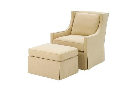 Wesley Hall, Inc. - Skirted Chair - 661