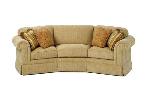 Wesley Hall, Inc. - Curved Sofa - 1330-107
