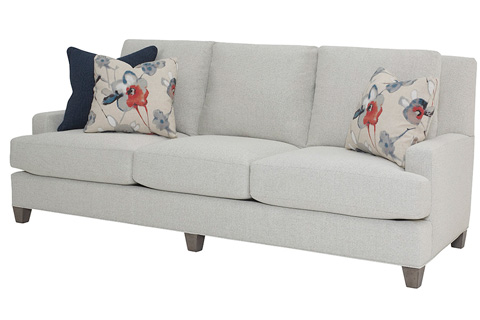 Wesley Hall, Inc. - Three Seater Sofa - 1672-88