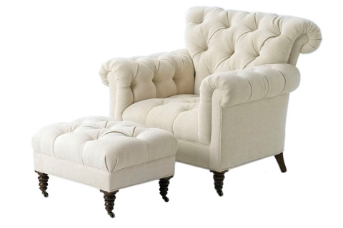 Wesley Hall, Inc. - Button Tufted Club Chair - 1935