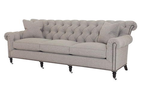 Wesley Hall, Inc. - Button Tufted Sofa - 1936-100