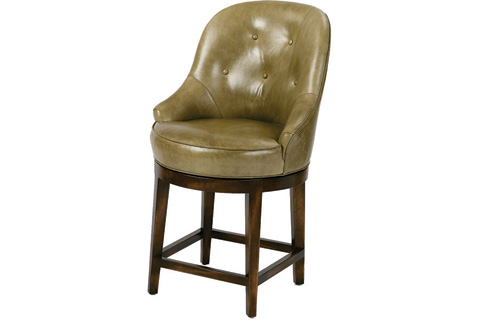 Wesley Hall, Inc. - Tufted Counter Stool - 5008-CS