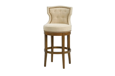 Wesley Hall, Inc. - Tufted Bar Stool - 5012-BS