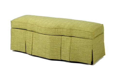 Wesley Hall, Inc. - Skirted Storage Ottoman - 51 C
