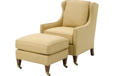 Wesley Hall, Inc. - Wing Back Chair - 650