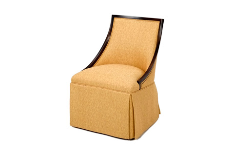 Wesley Hall, Inc. - Skirted Accent Chair - 675