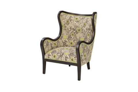 Wesley Hall, Inc. - Exposed Frame Wing Chair - 740