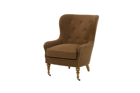 Wesley Hall, Inc. - Wing Back Chair - 763
