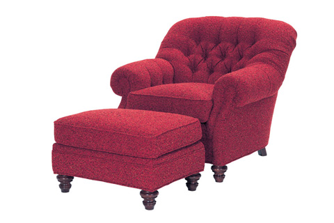Wesley Hall, Inc. - Tufted Club Chair - 816