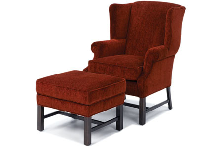 Wesley Hall, Inc. - Wing Back Chair - 953