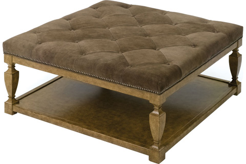 Wesley Hall, Inc. - Square Ottoman - L133