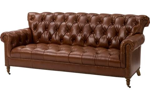 Wesley Hall, Inc. - Rolled Back Sofa - L1934-84