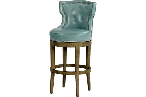 Wesley Hall, Inc. - Tufted Barstool - L5012-BS
