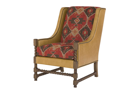 Wesley Hall, Inc. - Wing Back Chair - L613