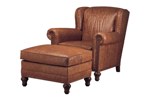 Wesley Hall, Inc. - Wing Back Chair - L7006