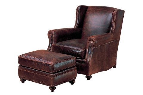 Wesley Hall, Inc. - Wing Back Chair - L7027