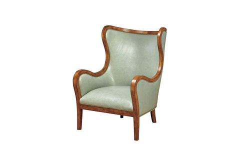 Wesley Hall, Inc. - Exposed Frame Wing Chair - L7071