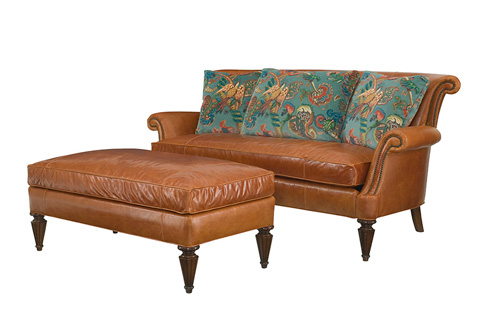 Wesley Hall, Inc. - Rolled Back Settee - L8060-79