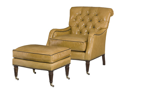 Wesley Hall, Inc. - Button Tufted Chair - L8167