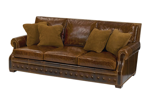 Wesley Hall, Inc. - Three Seater Sofa - L8196-93