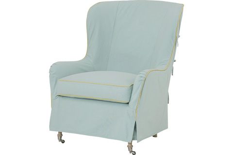 Wesley Hall, Inc. - Wing Back Chair - SC763
