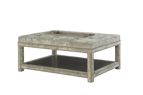 Wesley Hall, Inc. - Patterson Ottoman - 91