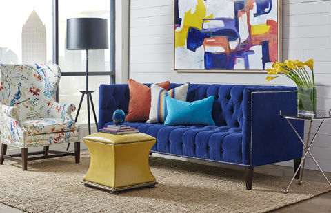 Image of Kennedy Three Piece Living Room Collection