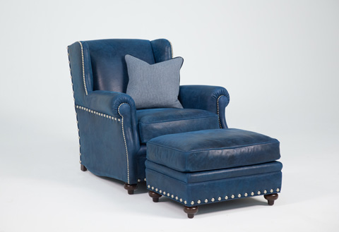 Image of Aspen Chair and Ottoman