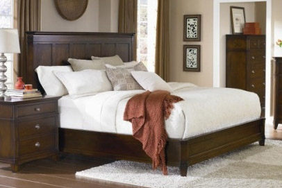 West Bros - King Panel Bed - 91575-BED