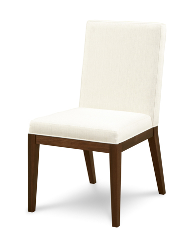 Image of Upholstered Parson Side Chair