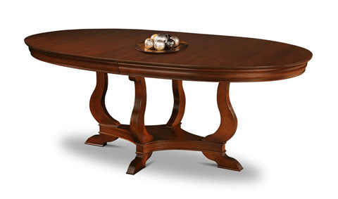 Image of Oval Pedestal Table