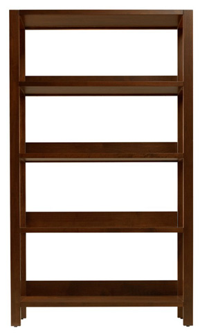 West Bros - Large Single Bookcase - 61280-343