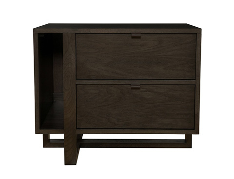 Image of Magazine Nightstand Left