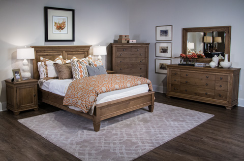 Image of Odeon Collection Queen Bedroom Set