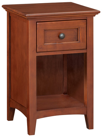 Whittier Wood Furniture - One Drawer McKenzie Nightstand - 1099GAC