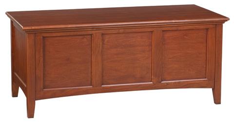 Whittier Wood Furniture - McKenzie Storage Chest - 1125GAC