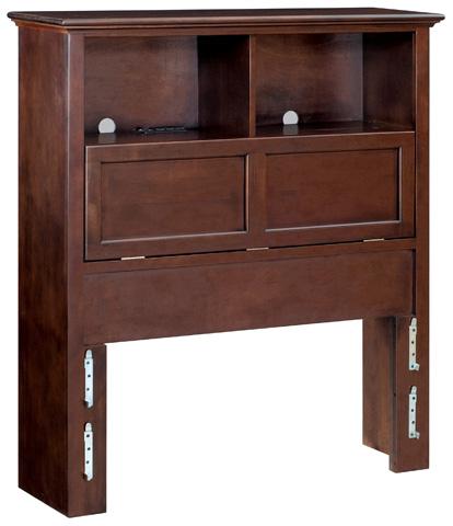 Whittier Wood Furniture - McKenzie Twin Bookcase Headboard - 1361CAF
