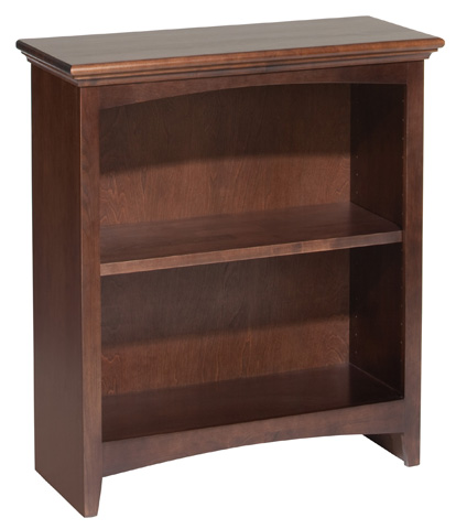 Whittier Wood Furniture - McKenzie Alder Bookcase - 1520AECAF