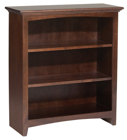 Whittier Wood Furniture - McKenzie Alder Bookcase - 1531AECAF