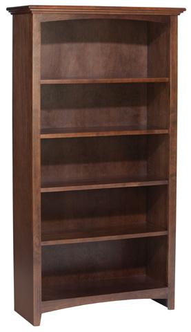 Whittier Wood Furniture - McKenzie Alder Bookcase - 1533AECAF