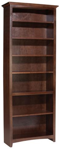 Whittier Wood Furniture - McKenzie Alder Bookcase - 1536AECAF