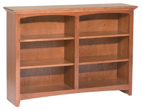 Whittier Wood Furniture - McKenzie Alder Bookcase - 1551AEGAC