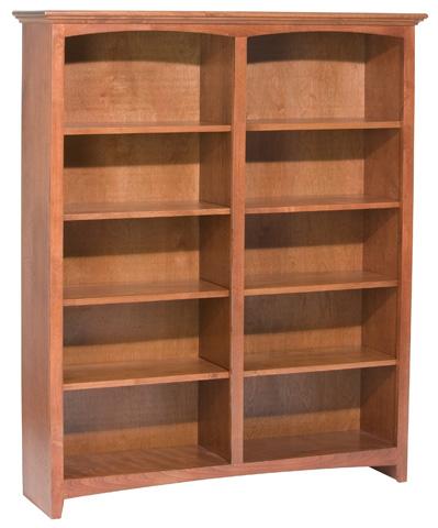 Whittier Wood Furniture - McKenzie Alder Bookcase - 1553AEGAC