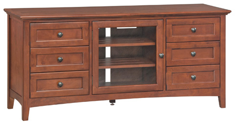 Whittier Wood Furniture - McKenzie Media Console - 2069GAC