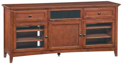 Whittier Wood Furniture - McKenzie Center Channel Console - 2074GAC