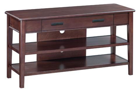 Whittier Wood Furniture - Stayton Media Console - 3460CAF