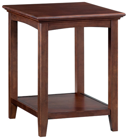 Whittier Wood Furniture - McKenzie Side Table - 3498CAF
